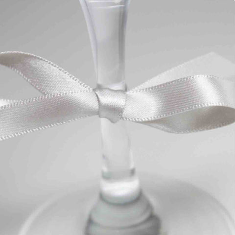 Berisfords Satin Ribbon - Silver Grey