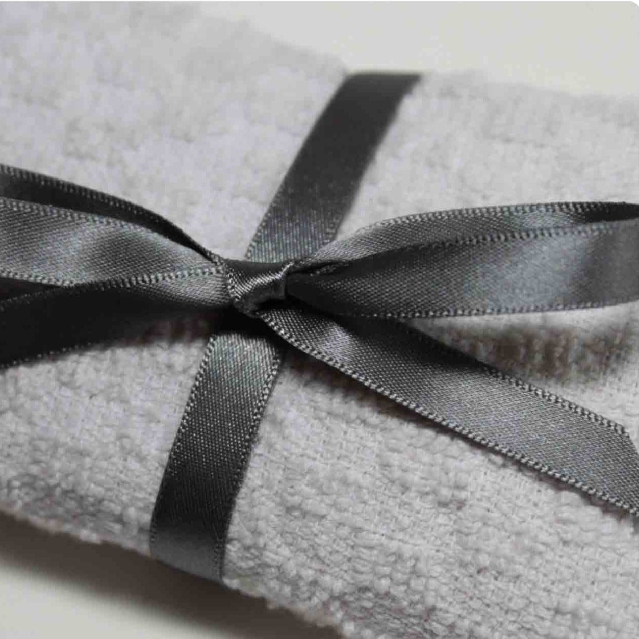 Berisfords Satin Ribbon - Smoked Grey