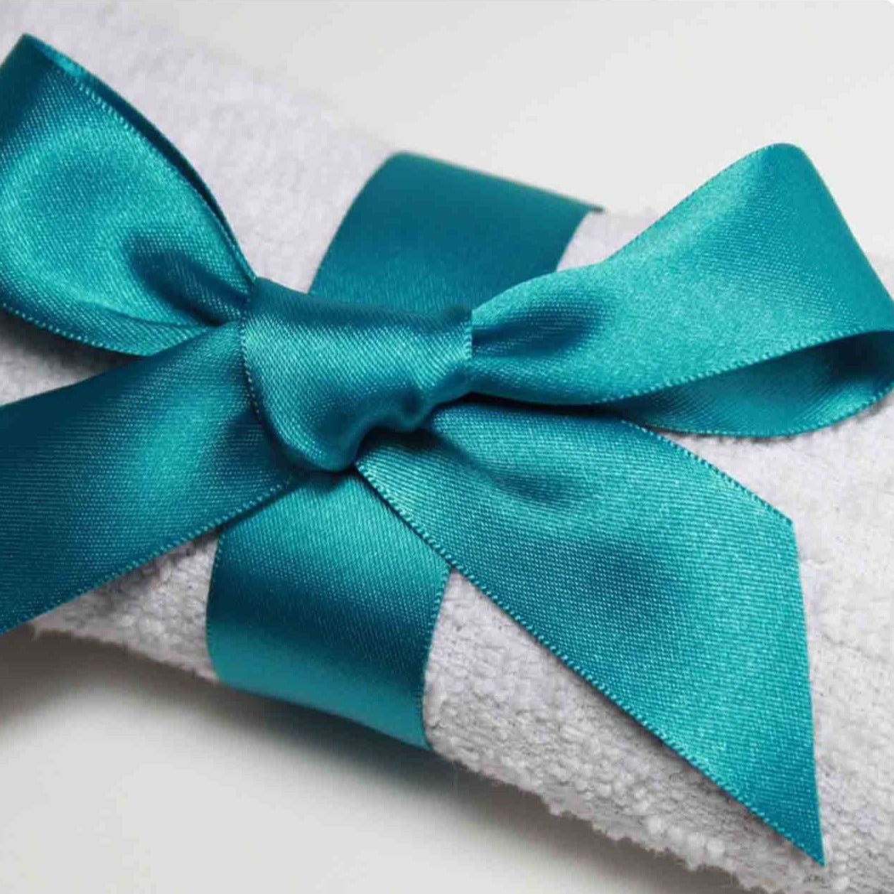 Berisfords Satin Ribbon - Malibu Blue