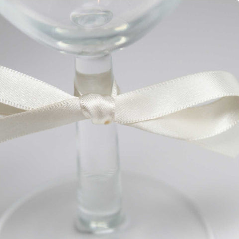 Berisfords Satin Ribbon - Pearl