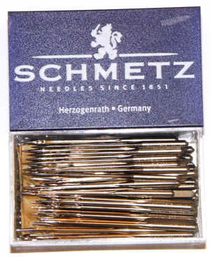 Box of 100 sewing machine needles | Schmetz from Jaycotts Sewing Supplies