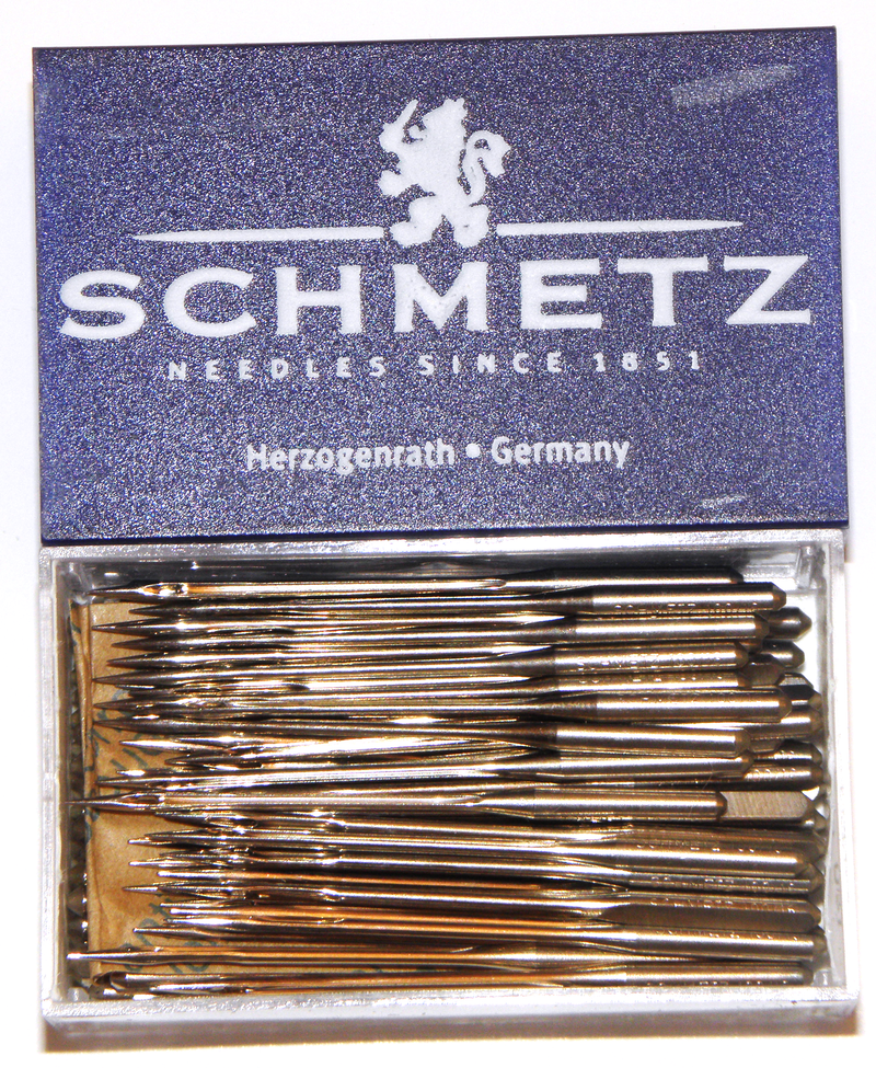 Box of 100 sewing machine needles | Schmetz
