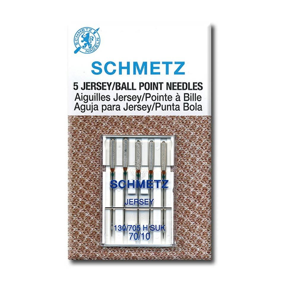 Schmetz Ballpoint / Jersey Needles - Pack of 5 from Jaycotts Sewing Supplies