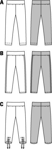 BD9415 Girls' Pants | Easy