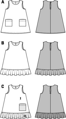 BD9420 Toddler Dress | Easy from Jaycotts Sewing Supplies