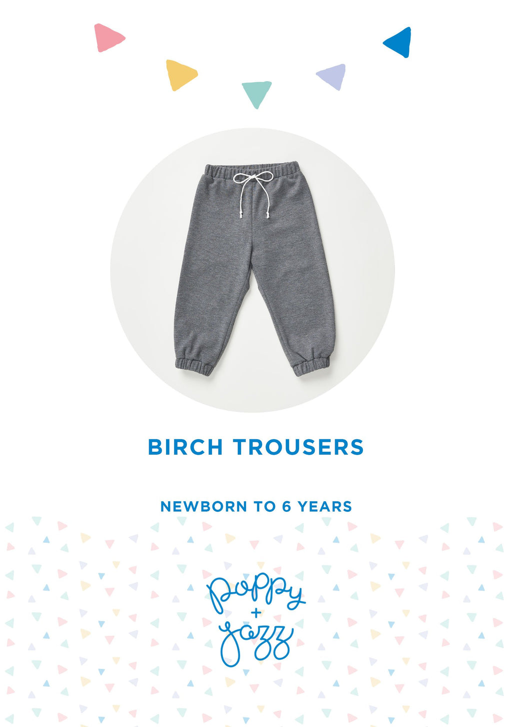 Sew Over It Poppy + Jazz | Birch Trousers Pattern