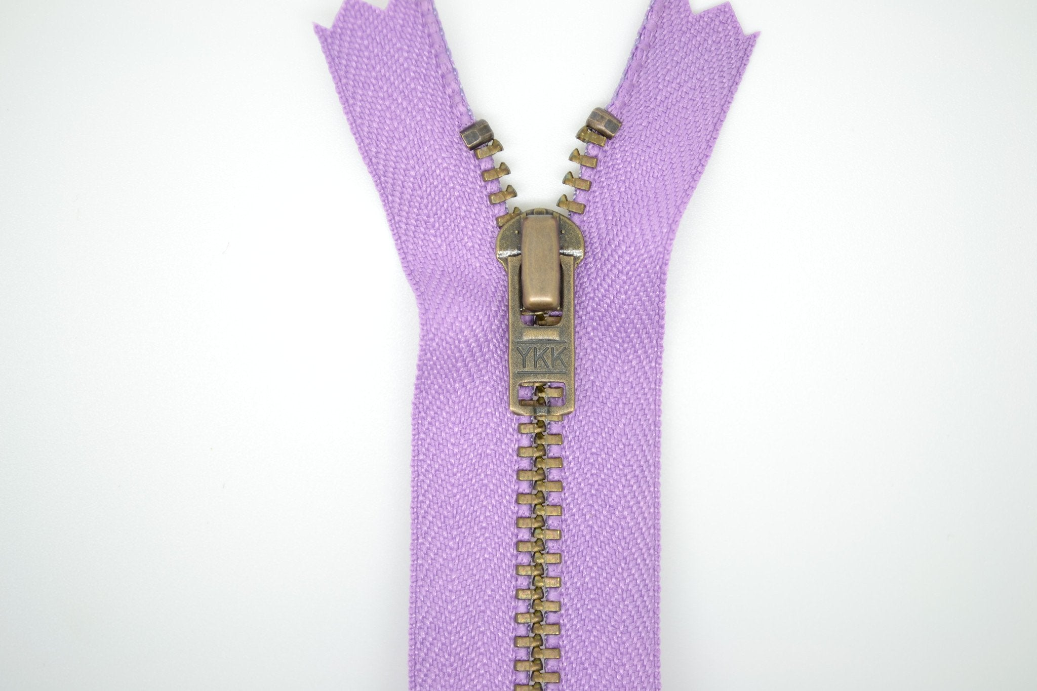 Metal Dress Zip | Antique Brass - LILAC
