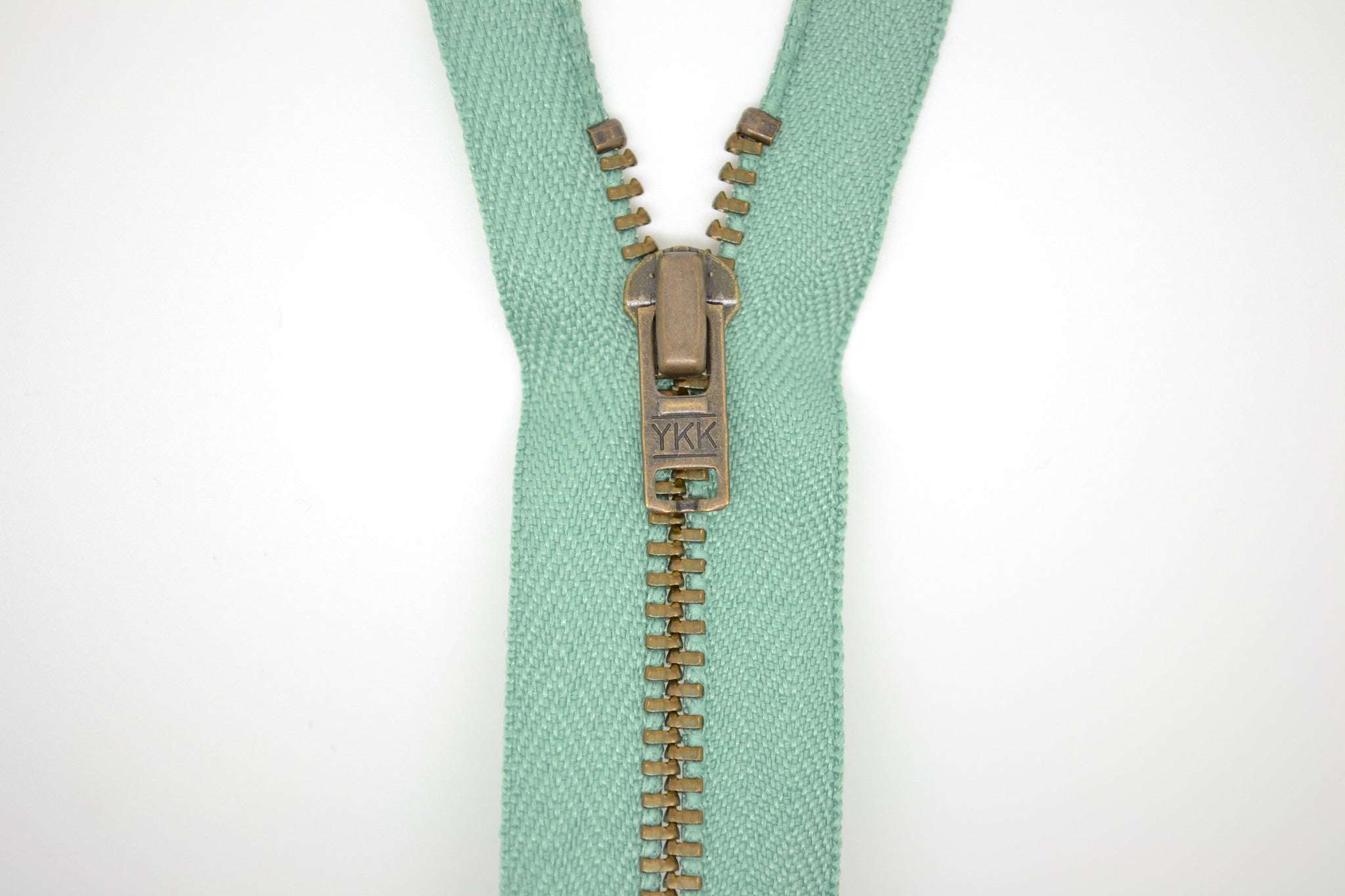 Metal Dress Zip | Antique Brass - SAGE