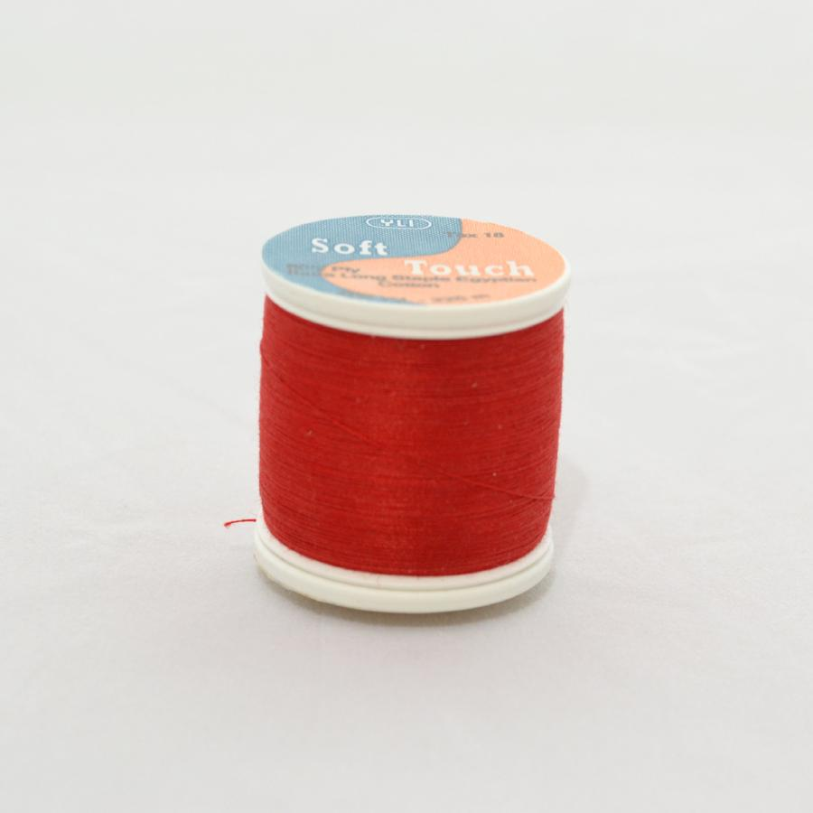 YLI Soft Touch Thread 250 yds 005 Bright Red