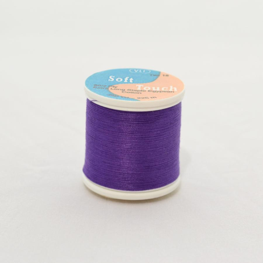 YLI Soft Touch Thread 250 yds 008 Purple from Jaycotts Sewing Supplies