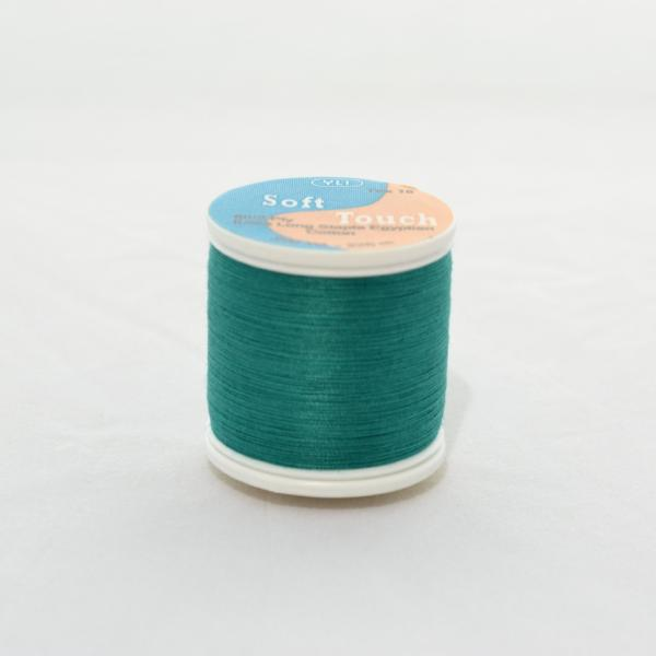 YLI Soft Touch Thread 250 yds 017 Kent Green from Jaycotts Sewing Supplies