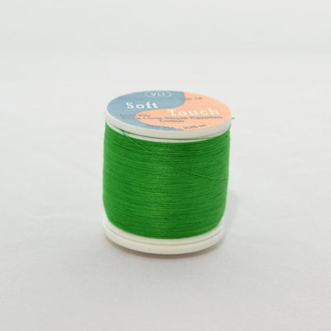 YLI Soft Touch Thread 250 yds 020 Kelly Green