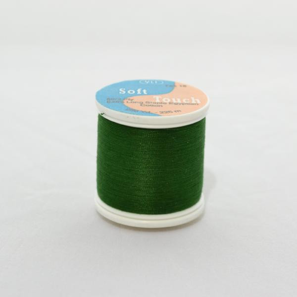YLI Soft Touch Thread 250 yds 021 Hunter Green from Jaycotts Sewing Supplies