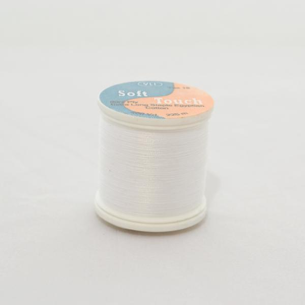YLI Soft Touch Thread - White