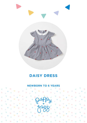Sew Over It Poppy + Jazz | Daisy Dress Pattern