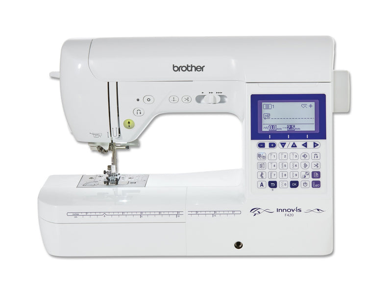 The latest Brother Sewing Machine F420