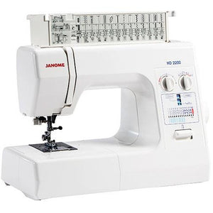 Janome HD 2200 - Sewing Machine from Jaycotts Sewing Supplies
