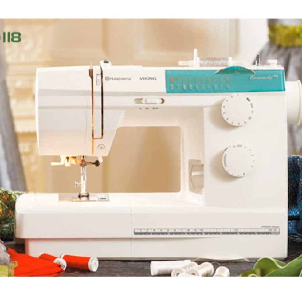 Husqvarna Viking Emerald 118 sewing machine \u2014 jaycotts.co.uk ...