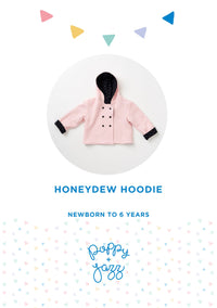 Sew Over It Poppy + Jazz | Honeydew Hoodie Pattern from Jaycotts Sewing Supplies