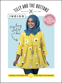 Tilly & The Buttons Indigo Smock Top + Dress Pattern