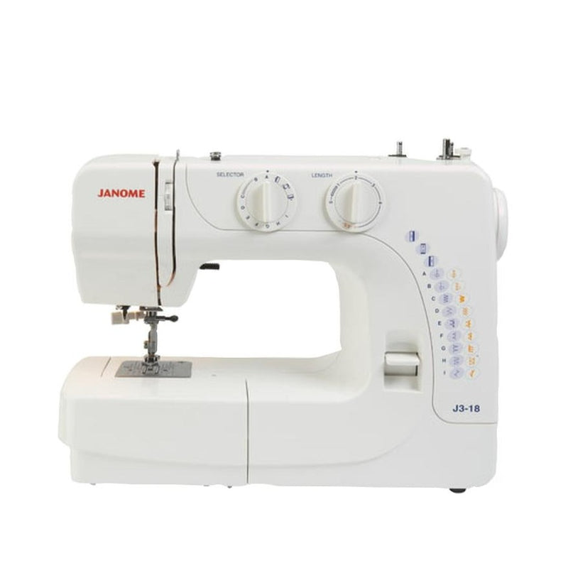 Janome J3-18 Sewing Machine from Jaycotts Sewing Supplies