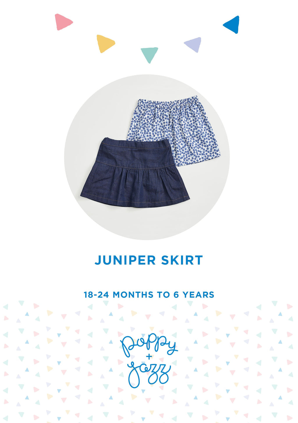 Sew Over It Poppy + Jazz | Juniper Skirt Pattern from Jaycotts Sewing Supplies