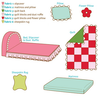 K0105 Sweet Dreams Doll Bed