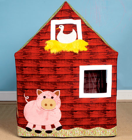 Kwik Sew 0125 Barn Playhouse from Jaycotts Sewing Supplies
