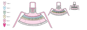 Kwik Sew 0136 Misses'/Girls'/Dolls' Aprons from Jaycotts Sewing Supplies