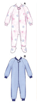 K3527 Toddlers' Sleepers
