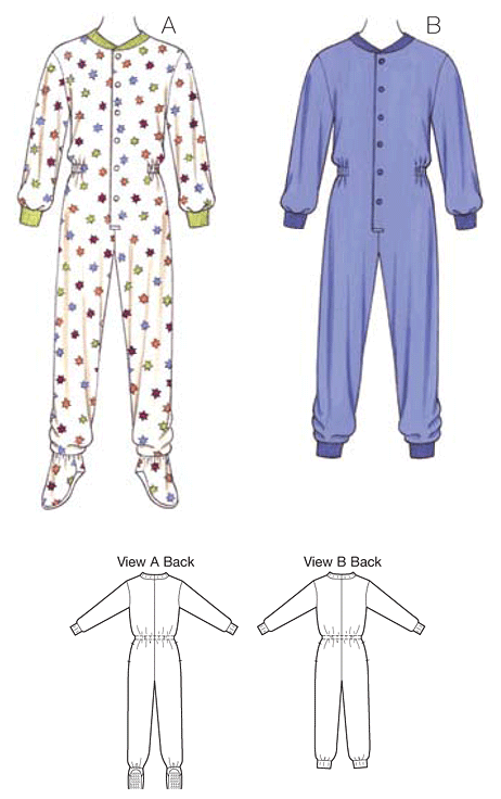 K3714 Girls' & Boys' Pyjamas