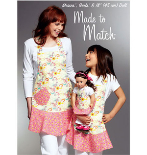 Kwik Sew 3787 Misses', Girls' & Dolls' Aprons