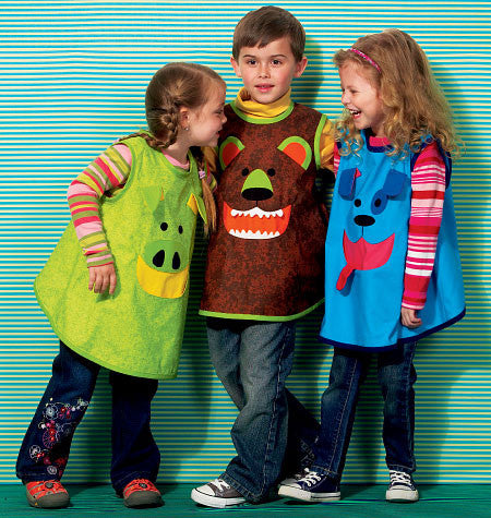 Kwik Sew 0154 Children's Smocks