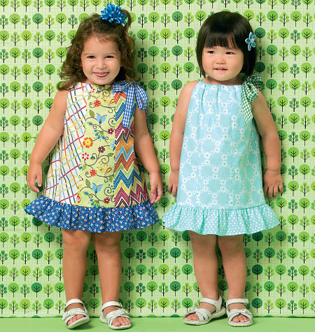 Kwik Sew 0169 Toddlers' Dresses