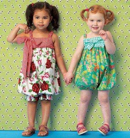 Kwik Sew 0174 Toddlers' Rompers