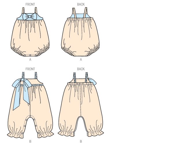 K0174 Toddlers' Rompers