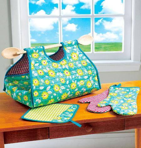 Kwik Sew 0196 Potholder, Mitts, and Casserole Carrier