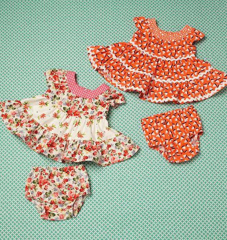 Kwik Sew 0198 Baby Dresses and Panties from Jaycotts Sewing Supplies