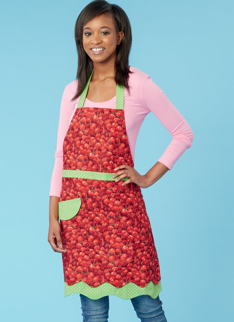 Kwik Sew 0255 Misses' and Girls' Aprons Pattern from Jaycotts Sewing Supplies