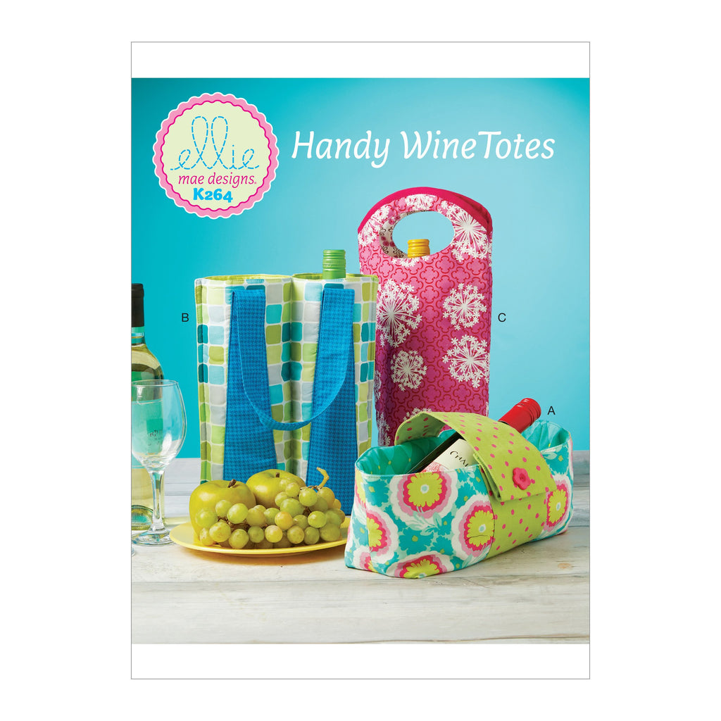 Kwik Sew 0264 Wine Bottle Carriers pattern