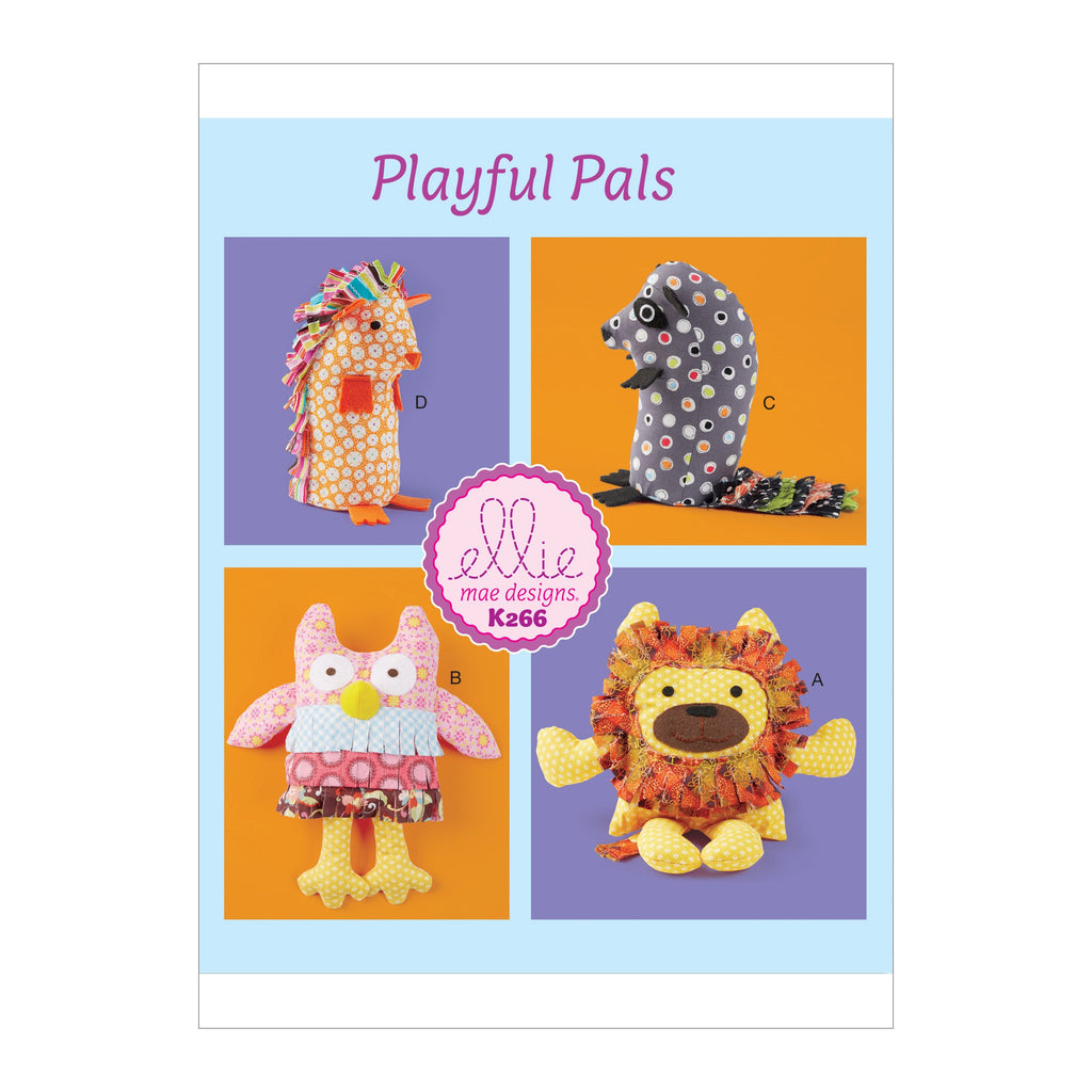 Kwik Sew 0266 Soft Animals pattern