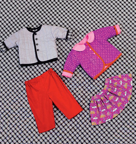 Kwik Sew 4080 Baby Jacket, Skirt & Pants