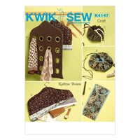 Kwik Sew 4147 Travel Accessories from Jaycotts Sewing Supplies