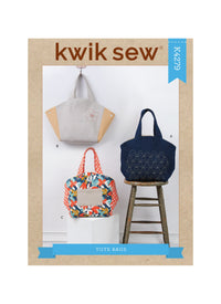Kwik Sew 4279 Tote Bags sewing pattern from Jaycotts Sewing Supplies