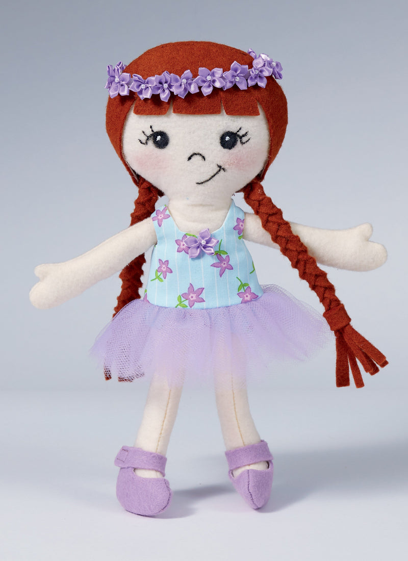 Kwik Sew 4286 Fabric Doll and Clothes sewing pattern