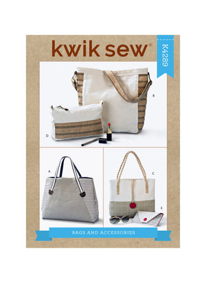 Kwik Sew 4289 Bags and Accessories sewing pattern