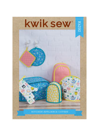 Kwik Sew 4292 Kitchen Covers, Pot Holders and Mitts sewing pattern from Jaycotts Sewing Supplies