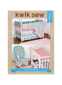 Kwik Sew 4296 Nursery Décor sewing pattern from Jaycotts Sewing Supplies
