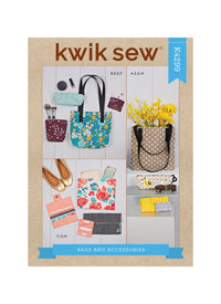 Kwik Sew 4299 Bags and Accessories sewing pattern
