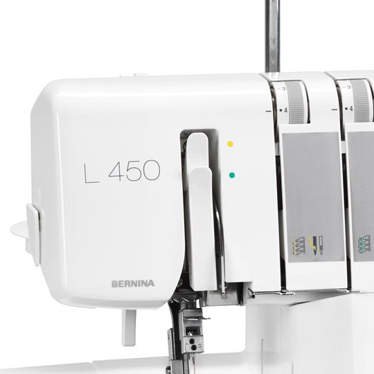 The New L450 overlocker from Bernina